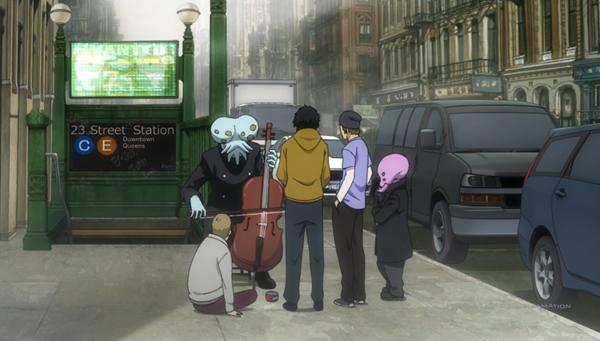 Egy átlagos utcazenész
